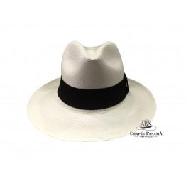 Clássico - Chapéu Panamá Fino - Branco