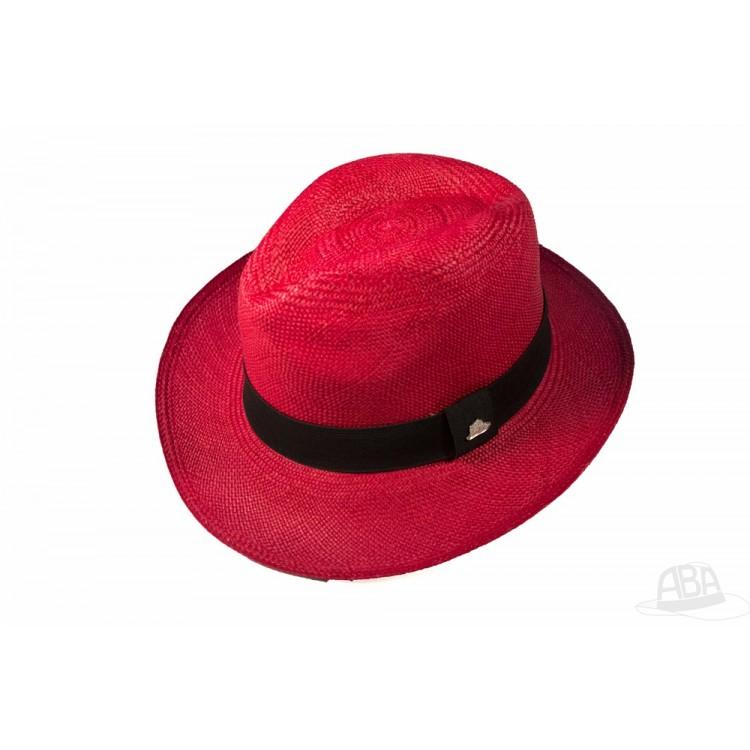 14f73eac03a27 Classico - Chapéu Panamá Colorido - Vinho