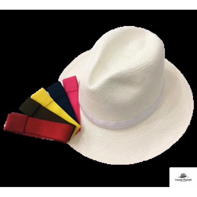 5e7ba229299f4 Rainbow - Chapéu Panamá Clássico Kit Fita