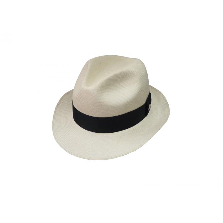 bbac16c7b2899 Clássico - Chapéu Panamá Super Fino Fedora - Natural