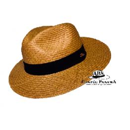 Clássico - Chapéu Panamá Galápagos Castor - NOVO. A prova d´água