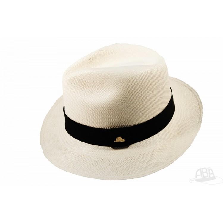 Clássico - Chapeu Panamá Semi fino - Branco Palha - Feminino 83f55d4d899