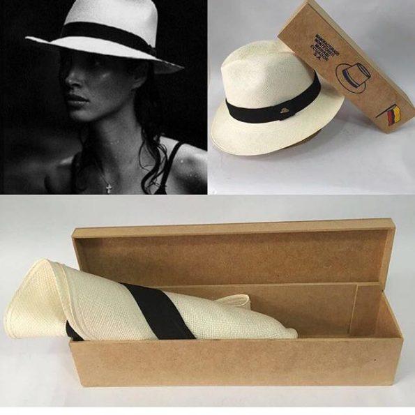 Chapéu Panamá Original Feminino Semi-fino feminino 1